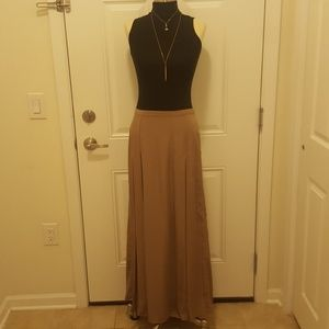 Club Monaco Double Slit Maxi Skirt